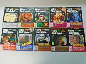 Video Watchdog Horror Lot 10 Different Average 6.0 FN (1993-2000)