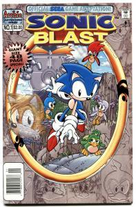 SONIC BLAST #1-sonic the hedgehog-1997-ARCHIE COMICS-SEGA