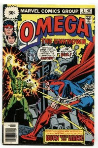 OMEGA THE UNKNOWN #3-30 CENT PRICE VARIANT-1976