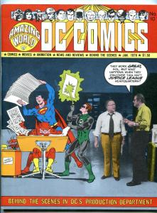 Amazing World Of D.C. Comics #10 1976- Justice League