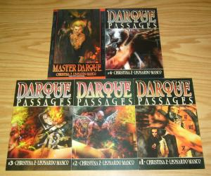 Darque Passages #1-4 VF/NM complete series + Master Darque #1 acclaim comics