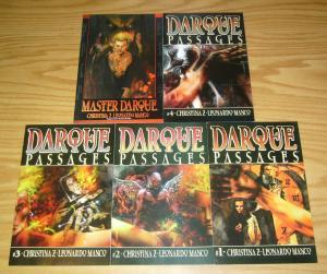 Darque Passages #1-4 VF/NM complete series + Master Darque #1 acclaim comics