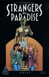 Strangers in Paradise (3rd Series) #18 VF/NM; Image | save on shipping - details