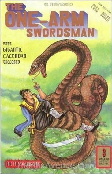 One-Arm Swordsman #3 VF/NM; Dr. Leung's | save on shipping - details inside
