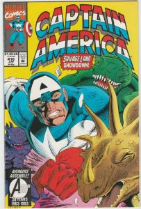 Captain America #416 (Jun-93) NM+ Super-High-Grade Captain America
