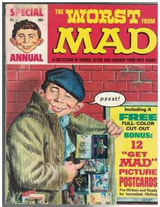 WORST FROM MAD 12 VG 1969