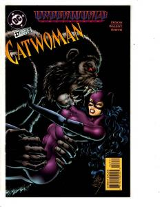 Lot Of 12 Catwoman DC Comic Books # 27 28 (2) 29 (2) 30 (3) 32 (2) 33 (2) SS7