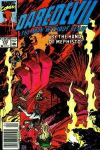 Daredevil #279 (Newsstand) FN; Marvel | save on shipping - details inside