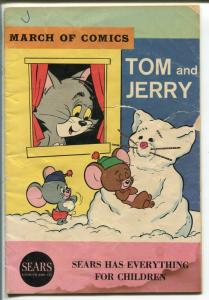 March Of Comics #281 1965-Tom and Jerry--5 X 7 1/4 -FR/GOOD