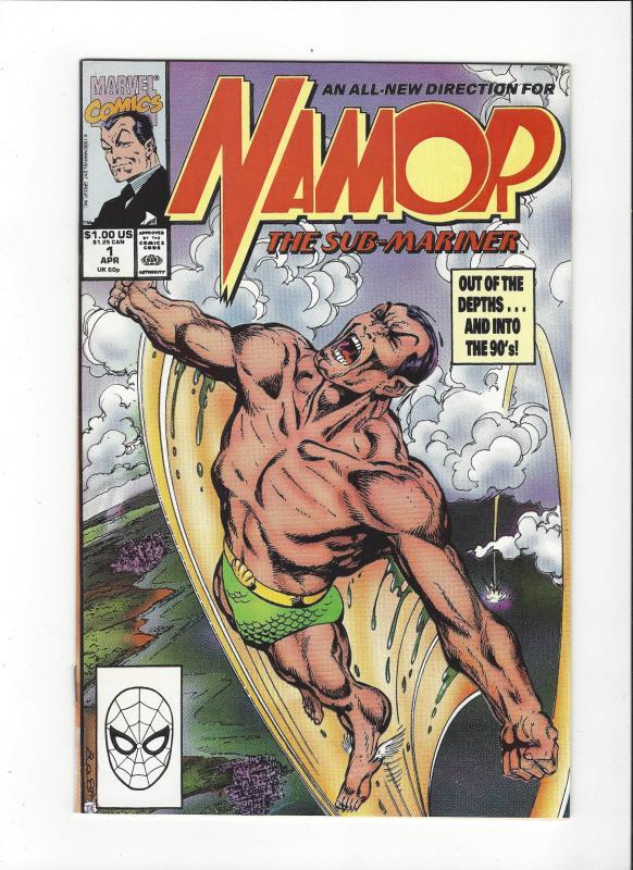 Namor The Sub-Mariner #1 John Byrne Story and Art NM