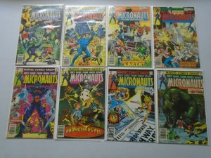 Micronauts Comic Lot From: #1-20 + Annual 20 Diff Books Avg 4.0 VG (1979-1980)
