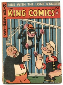 King Comics #144 1948- Flash Gordon- Popeye- Phantom VG-