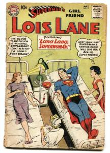 SUPERMAN'S GIRLFRIEND LOIS LANE #17-1960-2nd appearance of BRAINIAC