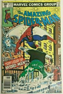 AMAZING SPIDER-MAN#212 VF 1981 FIRST HYDRO-MAN MARVEL BRONZE AGE COMICS