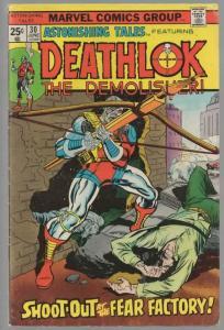 ASTONISHING TALES 30 VG June 1975 Deathlok