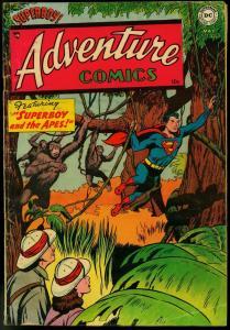 ADVENTURE COMICS #200 1954-SUPERBOY-AQUAMAN-JOHNNY QUIK VG-