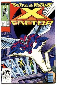 X-FACTOR #24-First ARCHANGEL!-1988-MARVEL- X-MEN MOVIE VF+