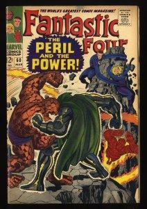 Fantastic Four #60 FN 6.0 Marvel Comics Doctor Doom!