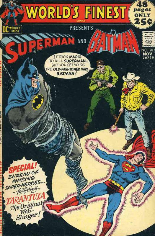 World's Finest Comics #207 VG; DC | low grade comic - save on shipping - details
