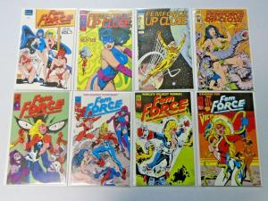 Femforce lot #22 to #76 + Specials - 36 different 8.0/VF (1989)