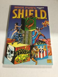 Nick Fury, Agent Of Shield Scorpio Nm Near Mint Sc TPB