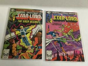 Marvel Spotlight 6 7 Vf Very Fine 8.0 First Comic Appearance Of Star Lord