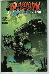 Dakkon Blackblade On the World of Magic: The Gathering #1 VF/NM 1996 Acclaim