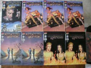 8 Top Cow image MIDNIGHT NATION Comic: #1 #2 (3) #3 (2) #4 (2) (2000 2001)