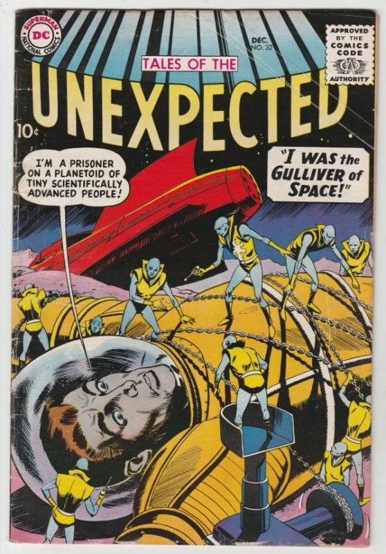 Tales of the Unexpected #32 (Dec-58) VG/FN Mid-Grade