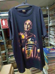 Camiseta de Star Wars, C3PO y R2-D2