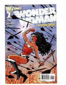 Wonder Woman # 1 NM 1st Print DC New 52 Comic Book Batman Superman Flash HR8