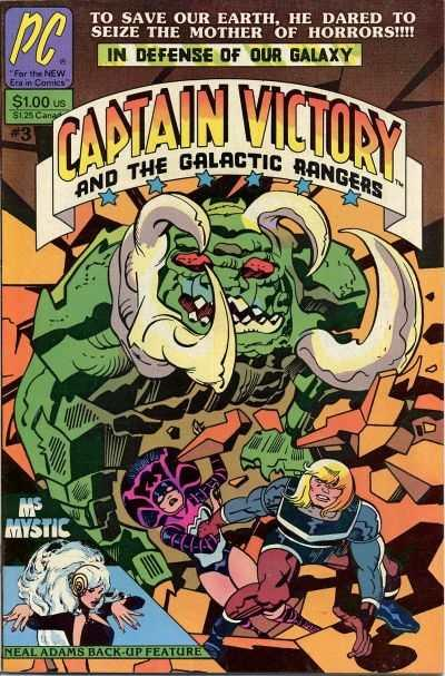 Captain Victory and the Galactic Rangers (1981 series) #3, VF- (Stock photo)