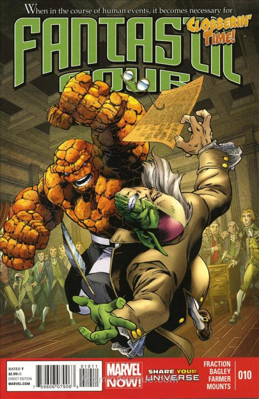 Fantastic Four (4th Series) #10 VF/NM; Marvel   save on shipping - details insid
