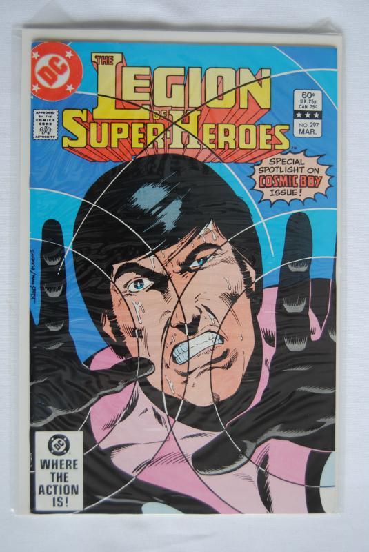 Legion of Super-Heroes 297