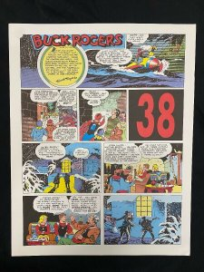 Buck Rogers #38- Sunday Pages #445-456 Color Reprints