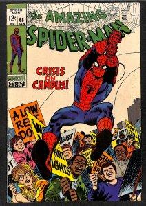 Amazing Spider-Man #68 FN+ 6.5 Kingpin!