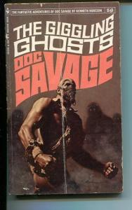 DOC SAVAGE-THE GIGGLING GHOST-#56-ROBESON-G-JAMES BAMA COVER-1ST EDITION G