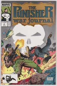 Punisher War Journal #4 (VF-)