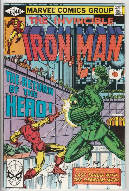 Iron Man #135 (Jun-80) NM Super-High-Grade Iron Man