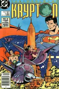 World of Krypton (1987 series) #1, VF (Stock photo)