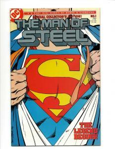 Lot Of 10 DC Comics The Man Of Steel # 1(2) 2 3 4 5 6 Superman +MORE J363