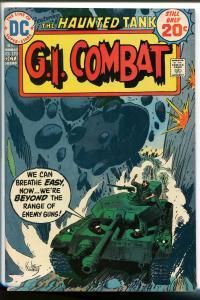 G.I. COMBAT #173 1974-DC-THE HAUNTED TANK-JOE KUBERT COVER- nm-
