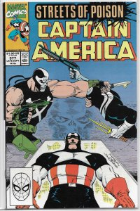 Captain America   vol. 1   #377 FN (Streets of Poison 6)