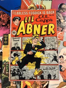 Al Capp's Li'l Abner #95 5.0 VG/F fearless fosdick WHITE PAGES anc 1954 GOLDEN