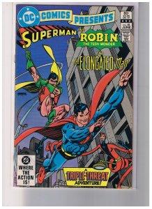 DC Comics Presents # 58