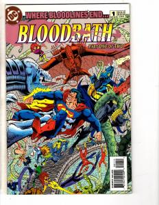 Bloodbath Complete DC Comics Limited Series 1 2 Batman Flash Superman Atom J210