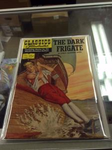 Classics Illustrated #132  The Dark Frigate FN+/VF- 1st Printing