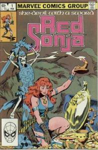 Red Sonja (Feb 1983 series) #1, Fine (Stock photo)