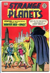 STRANGE PLANETS #16 1964-IW-KENTON OF THE STAR PATROL KINSTLER-vf