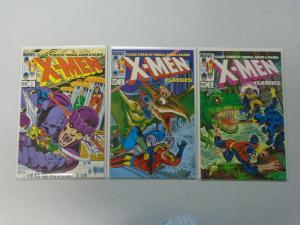 X-Men Classics set #1-3 8.0/VF (1983)